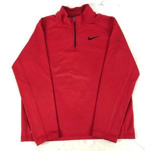 Nike Red Casual Pullover Therma-Fit Men's Sz M